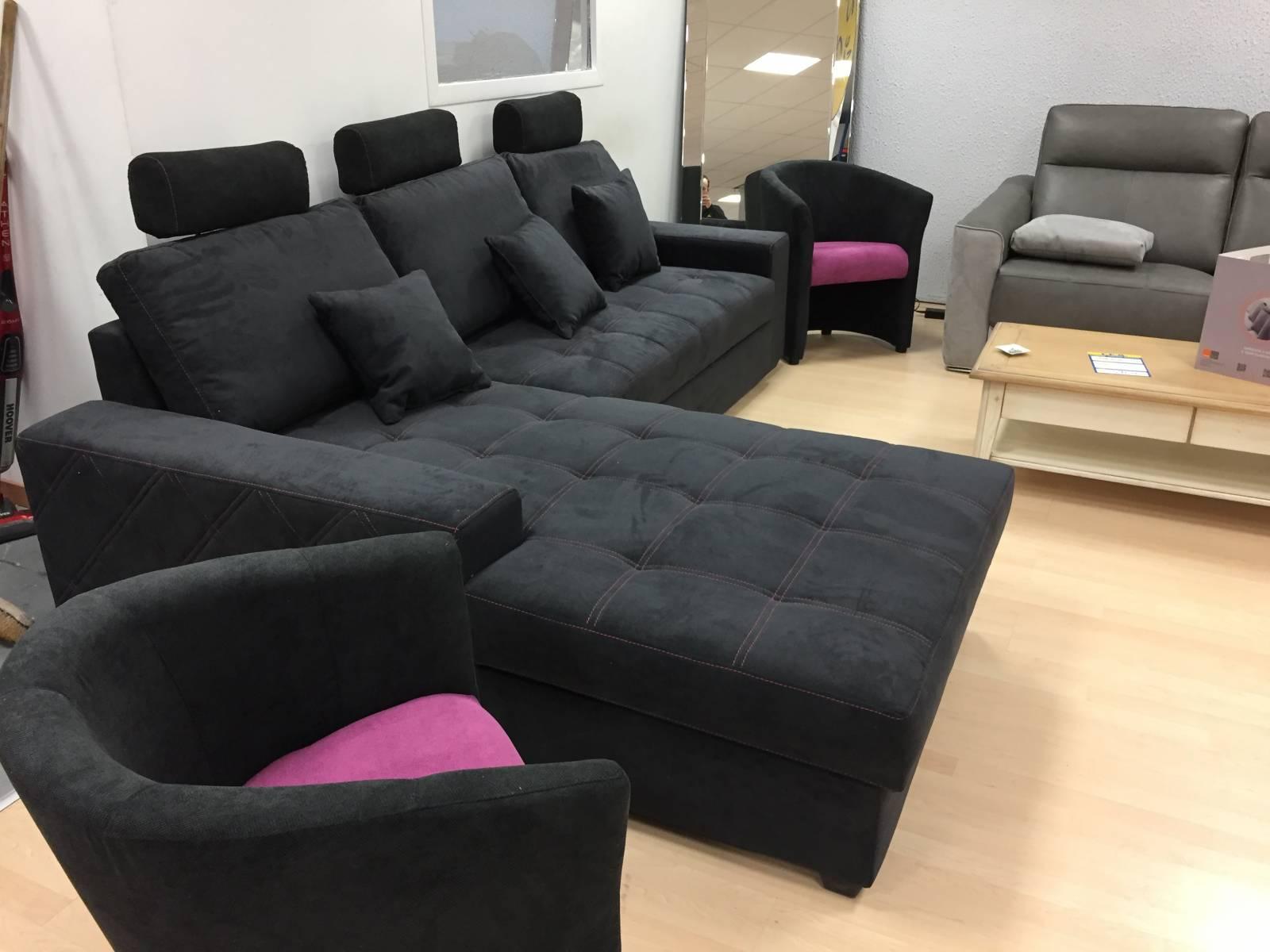 canape avec meridienne convertible mondo magasin d 39 lectrom nager pas cher pr s de libourne. Black Bedroom Furniture Sets. Home Design Ideas